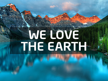 We love the earth!